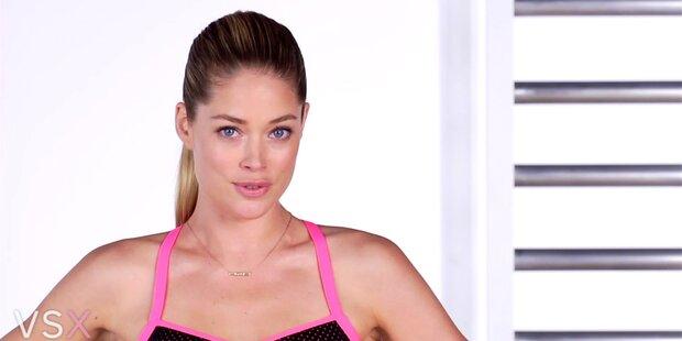 Doutzen Kroes mit sexy Workouttipps