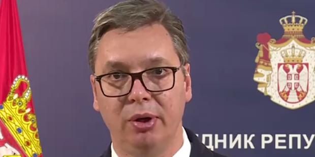 Serbiens Präsident Vucic wirbt für Kurz