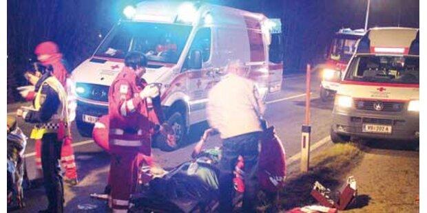 Lenker betrunken: Auto überschlug sich