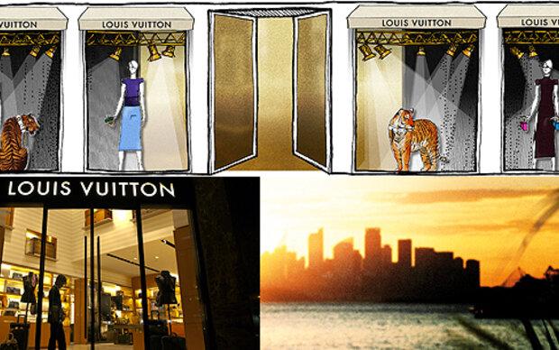 Louis Vuitton eröffnet Pop-up Store in Cannes