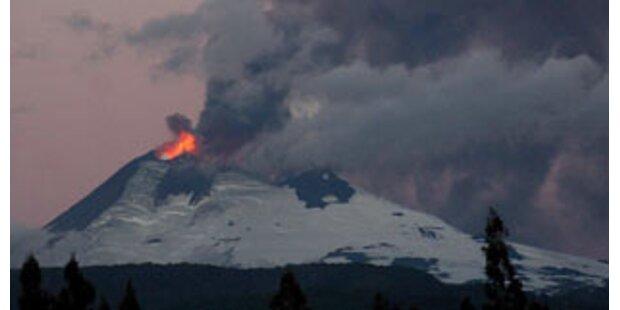 Touristen nach Vulkanausbruch in Chile gerettet
