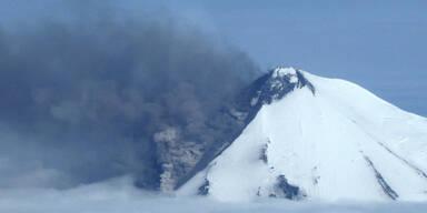 Vulkan stört Flugverkehr