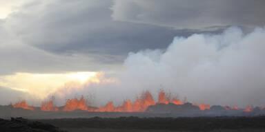 Island-Vulkan kurz vor Mega-Ausbruch