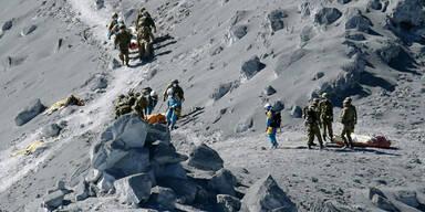 Vulkan-Opfer wurden aufgegeben