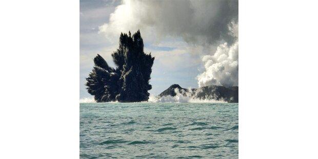 Unterwasser-Vulkan bricht vor Tonga aus