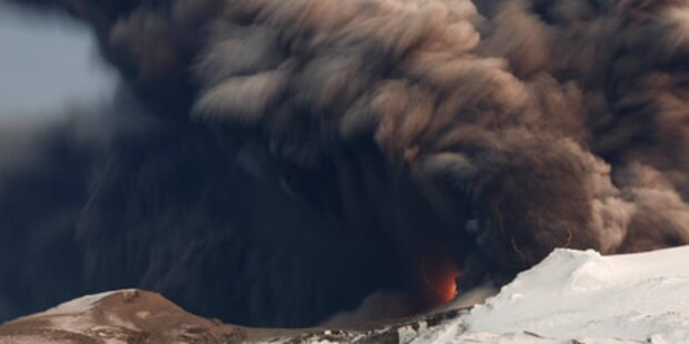 Vulkan: Luftraum über Irland gesperrt