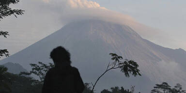 Vulkan Merapi tötet seinen Wächter