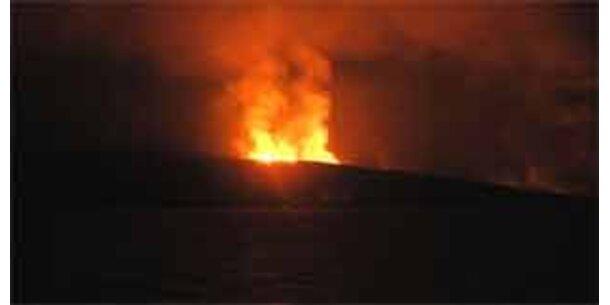 Vulkanausbruch im Roten Meer
