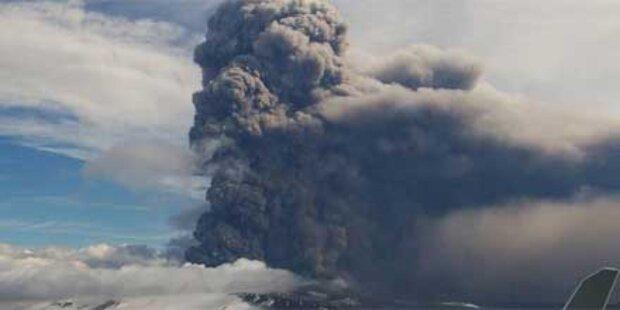 Weniger Vulkanasche als vermutet