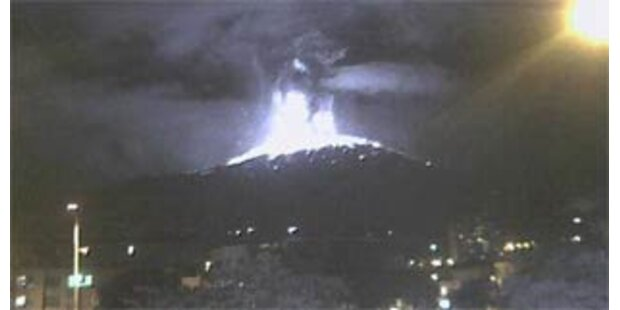 Vulkanausbruch in Kolumbiens Anden