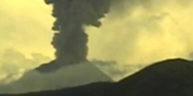 Vulkan in Ecuador ausgebrochen