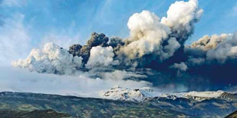 Vulkanwolke bringt uns mehr Regen