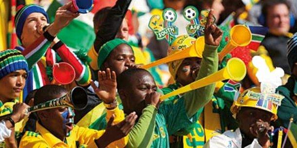 Vuvuzelas können Gehör schädigen