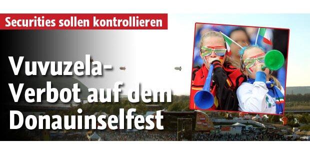Donauinselfest - Vuvuzelas verboten