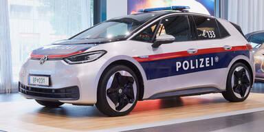 Neuer VW ID.3 für die heimische Polizei