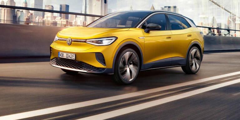 VW ID.4 1st in Österreich ab sofort bestellbar