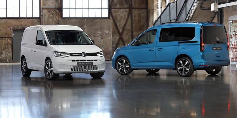 Neuer VW Caddy macht einen auf Golf 8