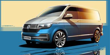 Facelift für den VW California