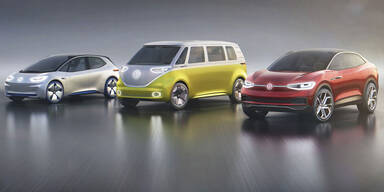 VW bringt E-Autos mit 500 km Reichweite