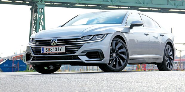 VW Arteon mit Top-Benziner im Test