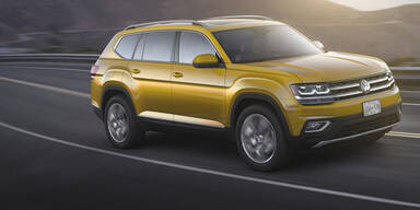 VW Atlas kommt nur als Benziner