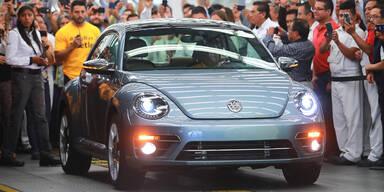 Letzter VW Beetle ist vom Band gelaufen