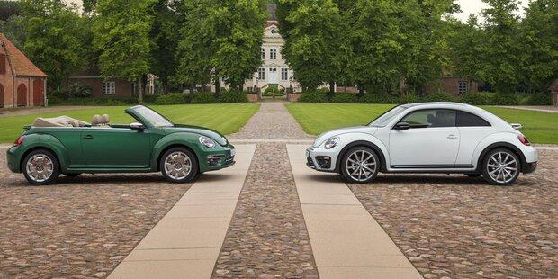 Austria-Modelle läuten Beetle-Abschied ein