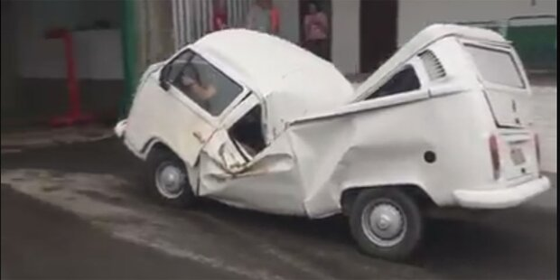 Unkaputtbarer VW Bulli sorgt für Furore