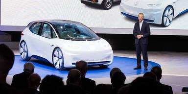 VW, BMW & Mercedes setzen voll auf E-Autos