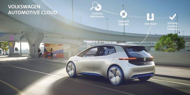 VW-Autos bekommen Microsoft-Dienste