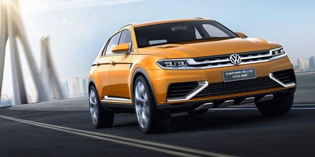 VW bringt drittes SUV
