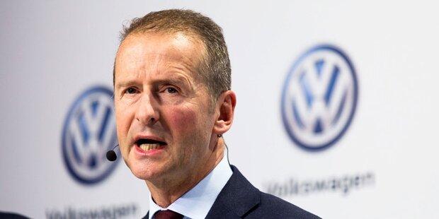Österreicher Diess wird VW-Konzernchef