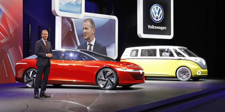 Neue Elektroautos werden für VW teurer
