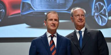 VW hält an Diess und Pötsch fest