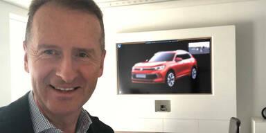Hat der VW-Chef den nächsten Tiguan geleakt?