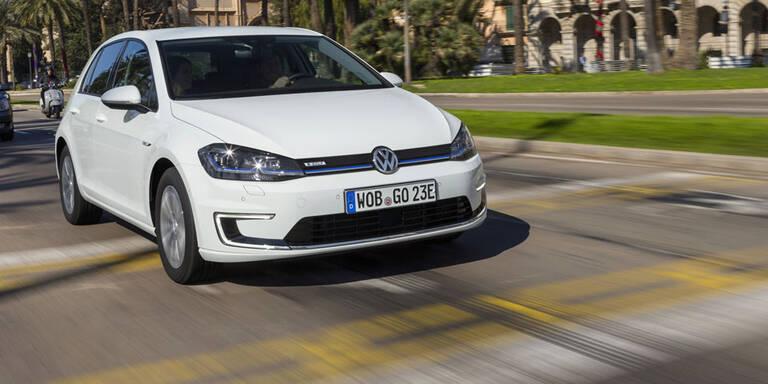 VW will Produktion des e-Golf verdoppeln