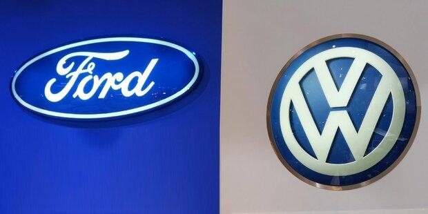 VW und Ford fixieren globale Allianz
