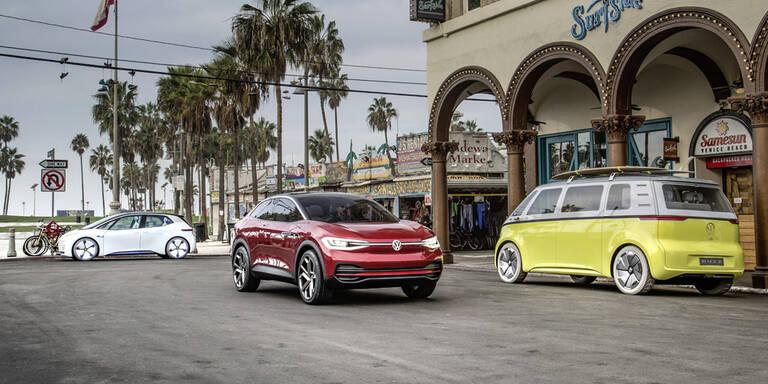 VW-Konzern drückt 22 Mio. Elektroautos in den Markt