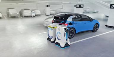 VW löst Ladesäulen-Problem für E-Autos