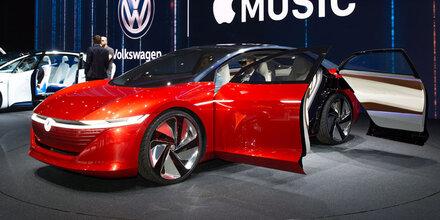 VW drückt bei Elektroautos aufs Tempo