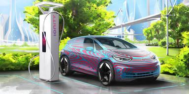 VW errichtet 36.000 Ladepunkte für E-Autos