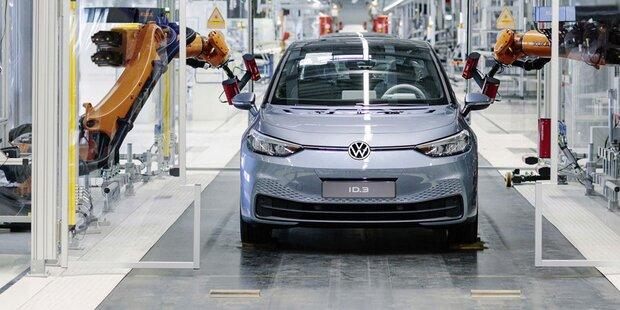 VW startete Serienproduktion des ID.3