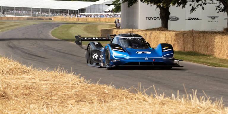 VW ID.R pulverisiert Formel-1-Rekord