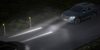 VW zeigt neue Hightech-Scheinwerfer