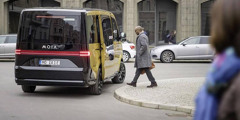 """VW baut seinen Uber-Gegner """"Moia"""" aus"""