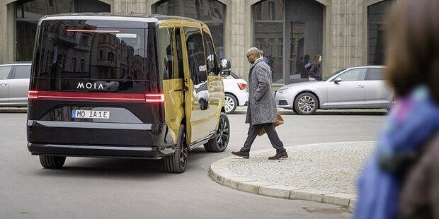VW baut seinen Uber-Gegner