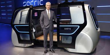 VW stellt sein erstes Roboter-Auto vor