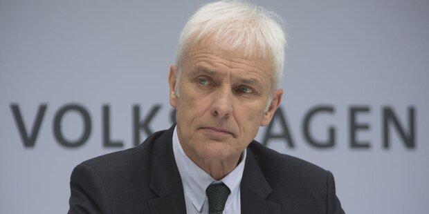 VW-Chef treibt Konzernumbau voran