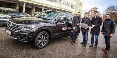 ÖFB-Team fährt ab sofort VW