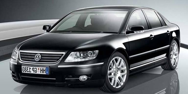 Der VW Phaeton gilt als sehr sicher